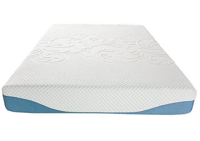 Synwell Sleep 10 Inch, Full Gel Infused Ventilation Memory Foam Mattress