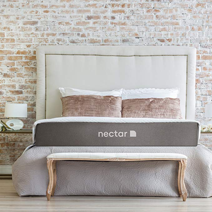 Nectar TwinXL Mattress + 2 Free Pillows - Gel Memory Foam - CertiPUR-US Certified - 180 Night Home Trial - Forever Warranty